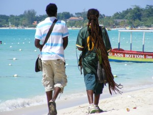 Rasta on the Beach